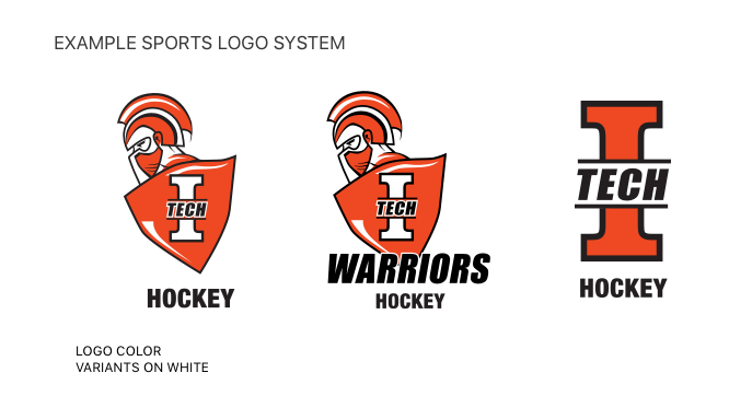 indiana tech warriors athletics style guide logo systems