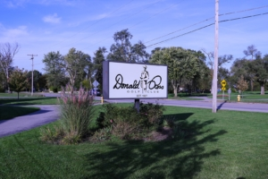 Sign for Donald Ross Golf Club