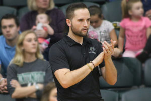 men's volleyball coach kyle shondell