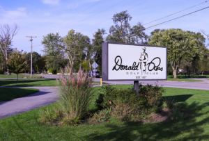 photo of exterior sign at donald ross golf club