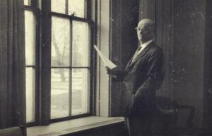 Former Indiana Tech President Archie Keene ni 1936