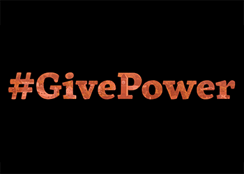 this is a graphic to promote the #GivePower movement at Indiana Tech