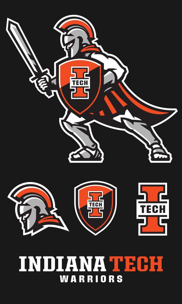new Indiana Tech Athletic Logo Set