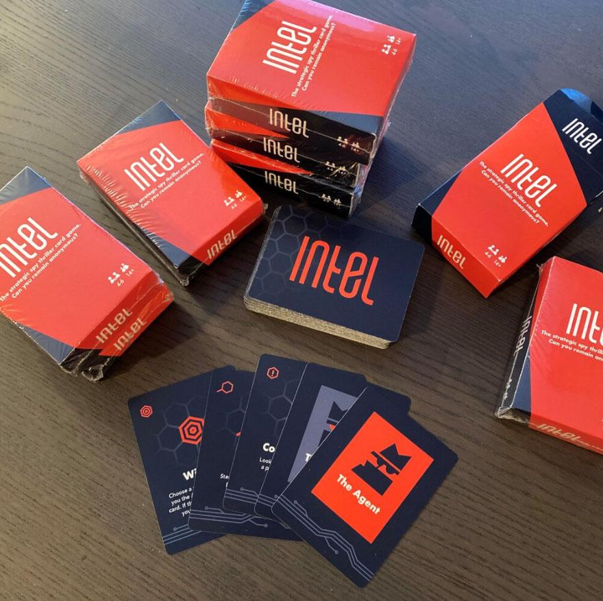 Intel Card Game