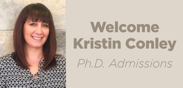 this is a photo of Kristin Conley, Ph.D. admission representative