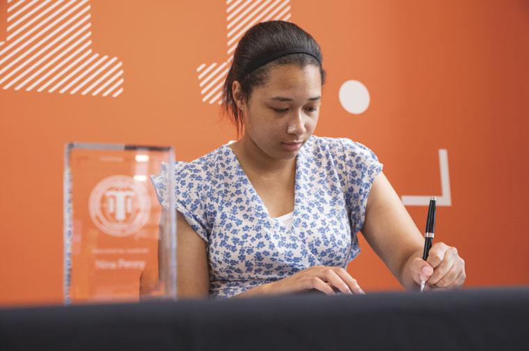 Nina Penny, Presidential Scholarship winner